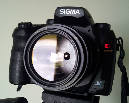 SIGMA SD15 + Jupiter 9